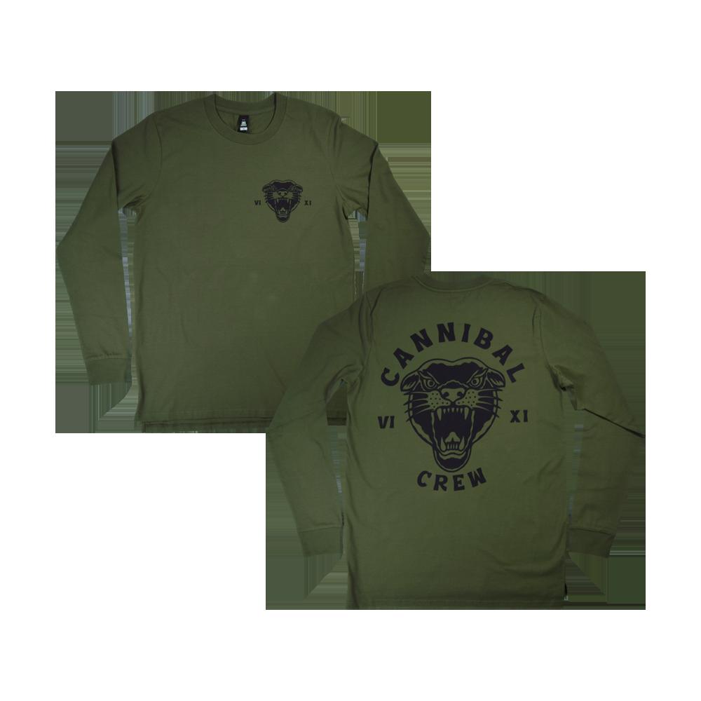 Cannibal Crew Longsleeve (Green)